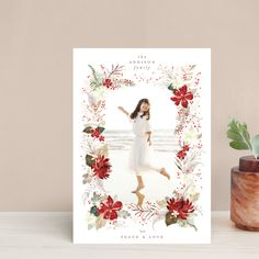 All Holidays, Christmas Holidays, Christmas Frames, Photo Layouts, Holiday Postcards, Holiday Photo Cards, Custom Photo, Peace And Love, Wedding Invitations