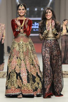 Teena by Hina Butt Bridal Couture Week 2014 Bridal Collection