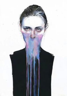 Illustration - illustration - By Agnes Cecile. illustration : – Picture : – Description By Agnes Cecile.creativeboysc… -Read More – Art And Illustration, Illustration Inspiration, Watercolor Illustration, Animal Illustrations, Illustrations Posters, Abstract Portrait Painting, Watercolor Portraits, Watercolor Paintings, Watercolors