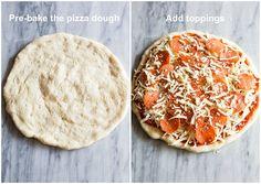 Perfect Pizza, Good Pizza, Pizza Pizza, Best Pizza Dough Recipe, Easy Pizza Dough, Mushroom Pizza Recipes, Making Homemade Pizza, Bread Making, Snacks