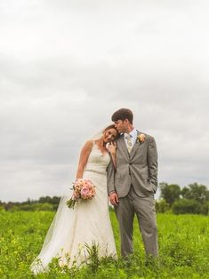 Jessica and Michael Devins | Paloma Blanca - Style 4305 #PalomaBlanca #RealBrides #WeddingDress #PalomaBlancaBrides