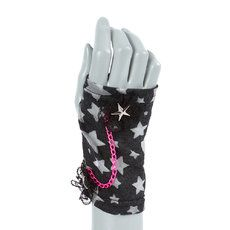 Stars,  Lace and Chains Armwarmers