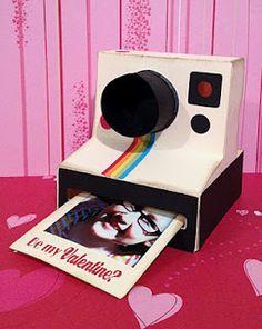 3D Paper Polaroid Valentine's Day Card!!!!!!!!
