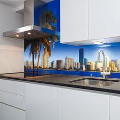 küchenrückwand aus glas | glas für die küche | pinterest - Glas Für Küchenrückwand