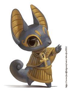 Anubis by Silverfox5213.deviantart.com on @deviantART