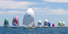 The wonderful annual sailboat race from Port Huron, MI to Mackinaw, MI