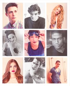 Teen Wolf cast is beautiful.