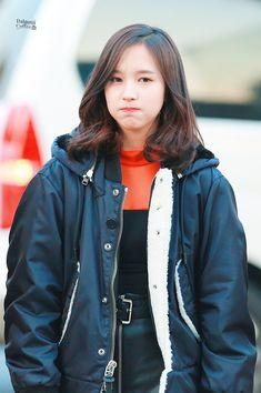 Myoui Mina, One In A Million, Raincoat, Bomber Jacket, Jackets, Beauty, Asia, Gallery, Fashion