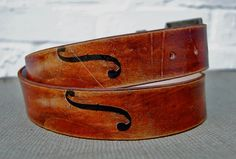 Handmade leather belt   CELLO by WittyandCharming on Etsy, £35.00