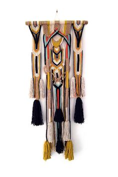 Modern Macrame, Macrame Art, Macrame Design, Macrame Projects, Macrame Wall Hanging Patterns, Macrame Patterns, Bohemian Wall Tapestry, Rope Art, Crochet Humor