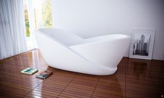 I really don't want a tub in the master (I know, crazy) but if I were going to get one, this would be it.