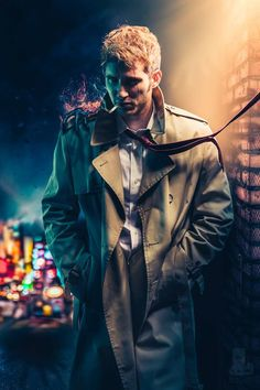 John Constantine from Hellblazer by JGexists