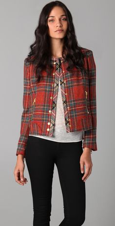 Rag & Bone Harvard Plaid Jacket | SHOPBOP