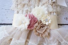 Bridal Sash dusty rose sash  bridesmaid belt  by PoshPeanutKids, $20.00