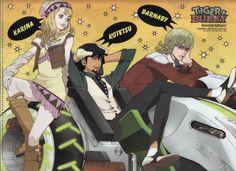 Download Tiger and Bunny: T&B (Kotetsu, Barnaby, Karina) (1600x1163) - Minitokyo