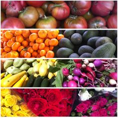 Farmers markets are a great way to shop organic, keep it local, and avoid the holiday supermarket rush. #pinspiration
