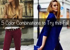 Baby It's Cold Outside: 5 Color Combinations to Prepare for the Coming Season! - The Budget Babe