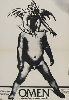 Polish poster for THE OMEN