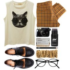 cookie by rosiee22 on Polyvore featuring See by Chloé, Minimarket, NARS Cosmetics and Korres
