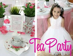 Little Girls Tea Party -- How to...