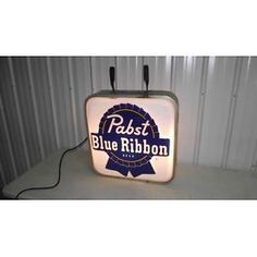 "RARE SIZE 25"" LIGHTED OUTDOOR PABST BEER SIGN Lot 164"