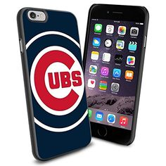 MLB Chicago Cubs Baseball, Cool iPhone 6 Smartphone Case Cover Collector iPhone TPU Rubber Case Black Phoneaholic http://www.amazon.com/dp/B00U0NIY6E/ref=cm_sw_r_pi_dp_4i2nvb0FCMWTF