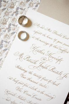 Photography: Gayle Brooker - gaylebrooker.com  Read More: http://www.stylemepretty.com/2014/02/03/ocean-course-kiawah-island-wedding/