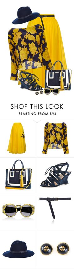 """""""Chelsea Rose"""" by dkelley-0711 ❤ liked on Polyvore featuring Parlor, Whit, River Island, Manolo Blahnik, Opening Ceremony, Maison Boinet, rag & bone and Chanel"""
