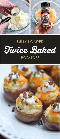 Savory bites filled with HORMEL® 100% Real Bacon Bits will make these Fully Loaded Twice Baked Potatoes a hit on your holiday table! For an appetizer you can count on this festive season, make sure to snag this recipe and serve it up to all your friends and family! Don't you just love that this party dish makes entertaining this year easy—and tasty—as can be?! Sponsored by HORMEL® Bacon Toppings.