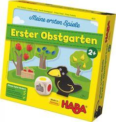 HABA Meine ersten Spiele: Erster Obstgarten - günstig auf Rechnung bestellen, Bonuspunkte sammeln, DHL Blitzlieferung!