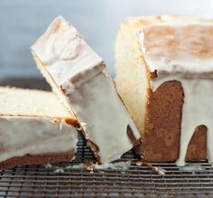 Cream Cheese Pound Cake. so melt in your mouth creamy! I like to do a lemon or lime glaze on my pound cakes