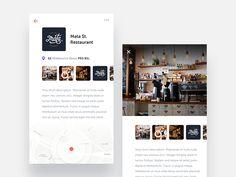 Location Overview by Dan Baker #Design Popular #Dribbble #shots