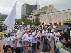 """""""Irrestricto apoyo en Nariño a marcha por la paz"""". 9 Abr 2013. (IPITIMES.COM ® /New York. FUENTE: HSB NOTICIAS)."""