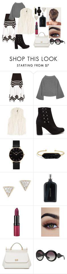 """Dolce&Gabbana-M.S.F."" by likeyoucare321 ❤ liked on Polyvore featuring Rosetta Getty, DKNY, CLUSE, BaubleBar, Adina Reyter, Boris Bidjan Saberi, Rimmel and Dolce&Gabbana"