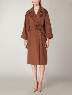 Pure cashmere coat