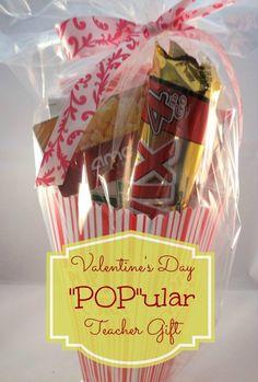 """Pop"" ular Valentine Teacher Gift Idea"