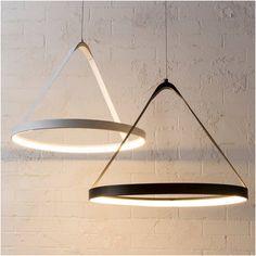 LED Pendant Light Black - Modern by Dwell Magazine : Target -- lighting ideas Home Office Lighting, Bedroom Lighting, Interior Lighting, Modern Lighting, Lighting Design, Lighting Ideas, White Pendant Light, Led Pendant Lights, Pendant Lighting