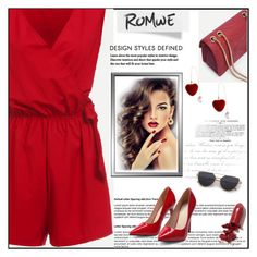 """""""Romwe"""" by amrafashion ❤ liked on Polyvore featuring LAQA & Co."""