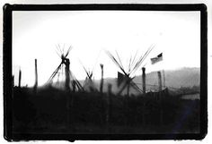 Tipis, Mescalero Apache Reservation    Mescalero, New Mexico 1988