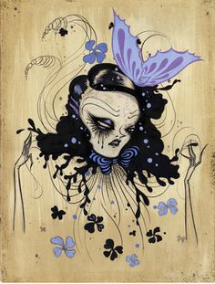 by Camille Rose Garcia (one of my fav surrealist artists. Her work will be on this board a lot).