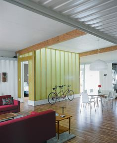 Shipping container home :))