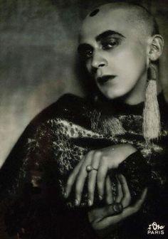 Dancer Harald Kreutzberg in Costume, Paris 1927, by Madame d'Ora