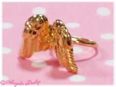 Etoile Feather Ring Gold