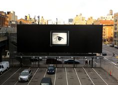 Watching you, from the High Line Park. High Line, Flat Screen, New York, Eye, Park, Photos, Blood Plasma, New York City, Pictures