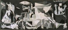 Pablo Picasso. Guernica, 1937. Óleo sobre lienzo. Colección Museo Nacional Centro de Arte Reina Sofía, Madrid