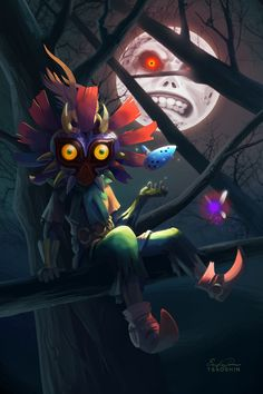 Skull Kid by Eric Proctor (Tsao Shin) Deviant Art - Website - Twitter - Facebook - YouTube