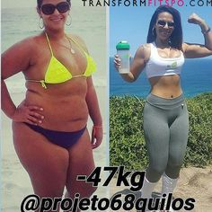 Tag Someone Thats Making a Fitness Transformation Want to Make a Transformation Like This? Check bio for our Five Star 90-day Transformation Program! Meet: @projeto68quilos my name is Raina to tell a little of my story with obesity. I've always been obese