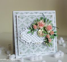 Birthday flowers by Monia - Cards and Paper Crafts at Splitcoaststampers