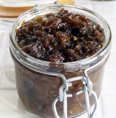 Apple and Pear Chutney    This fruity, spicy chutney is delicious alongside meat dishes like pork and chicken or served as part of a cheese plate.