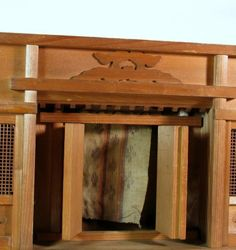 how to make a shinto shrine at home
